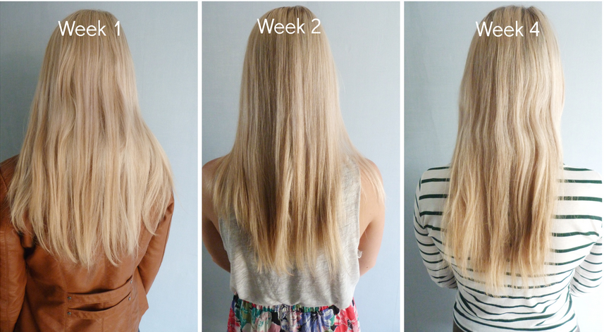 hairburst before and after