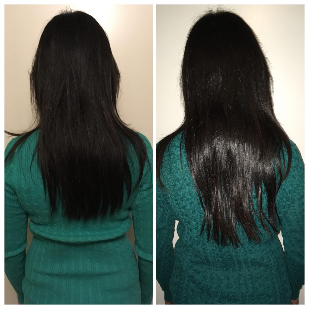 sugar bear hair before and after 2 month