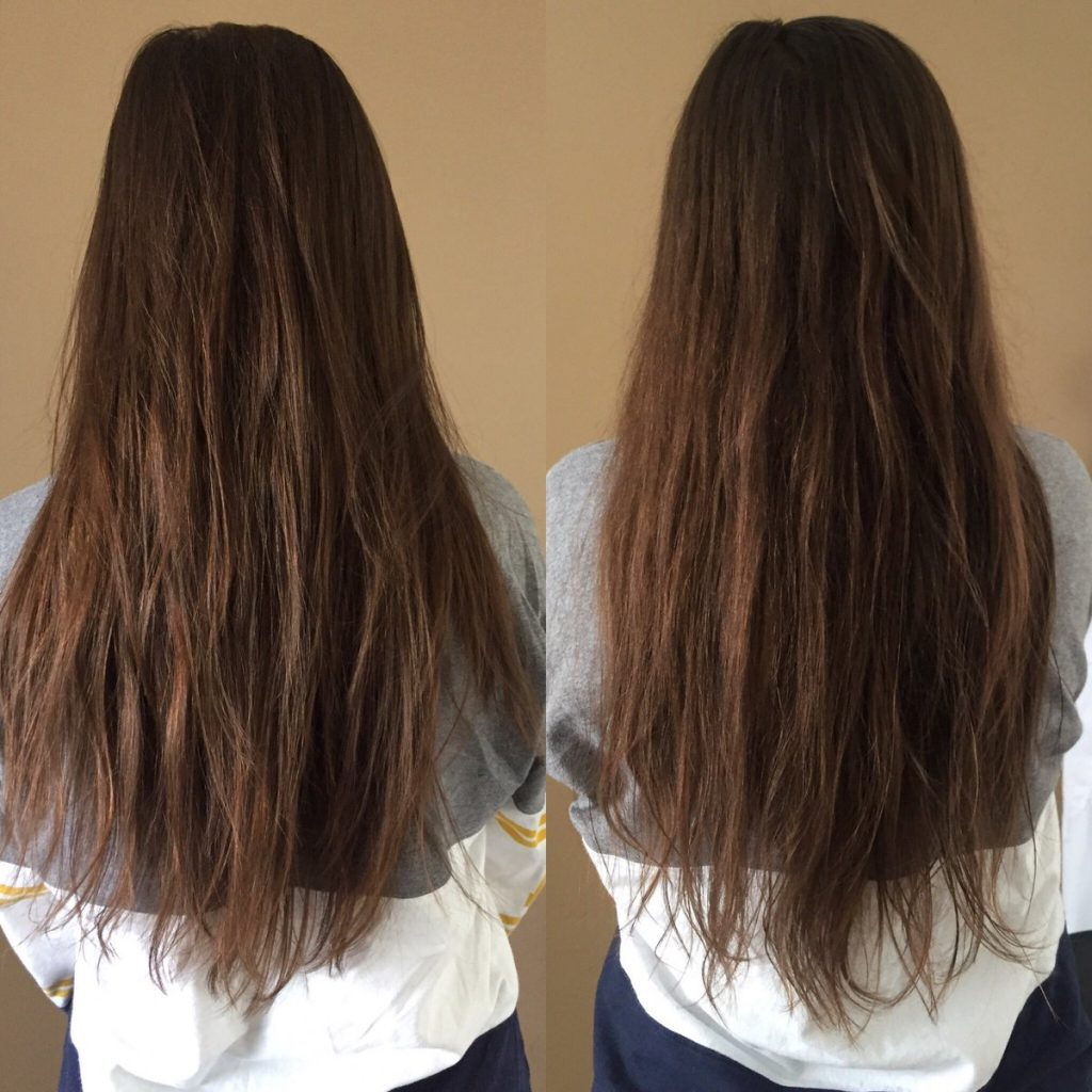 sugar bear hair before and after 1 month